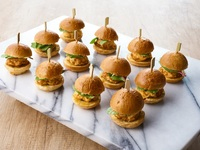 Breakfast Frittata Sliders - All Things Delicious Catering from All Things Delicious