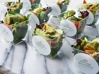 Salad Cups - All Things Delicious Catering from All Things Delicious
