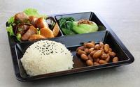 Roasted Pork with Beancurd Mushroom Bento Set - <A-One Signature> Catering Photo from A-One Signature
