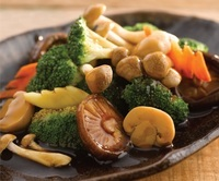 Stir-Fried Lotus with Assorted Vegetables and Mushrooms - <A-One Signature> Catering Photo from A-One Signature