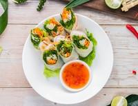 Fresh Prawn Rice Paper Rolls - Baan Thai Catering Photos from Baan Thai HK