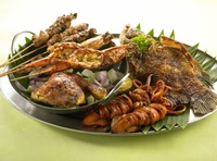 Sharing Platters from Bali Thai