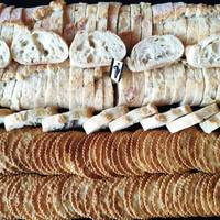 Assorted Baguette Crackers Platter from Monsieur CHATTE