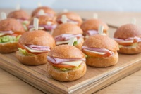 Mini Sandwiches from Artisan Boulangerie Co