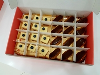 Customer Morgan - Mini Cheesecakes and Mini Eclairs - Artisan Boulangerie Co (abc) from Artisan Boulangerie Co (abc)