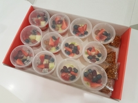 Customer Morgan - Granola & Fruit Yoghurt Cup Box from Artisan Boulangerie Co (abc)