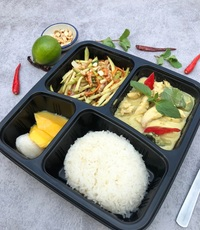 Thai Lunch Set B from Sawasdee Thai Restaurant
