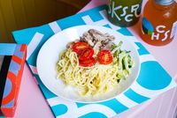 Turkey Citron Mayo Noodles  from Kitchen Bros