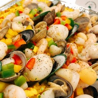 Spanish Seafood Paella from Tasty Catering