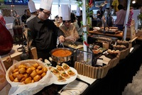 Buffet Catering Live Station - Megu Catering Concepts Catering Photo from MEGU Catering Concepts