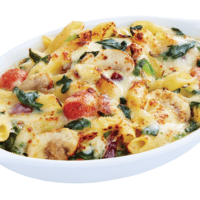 Baked Spinach & Mushroom Penne with Cheese <Pizza Hut> Catering Photo from Pizza Hut