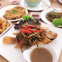 Sharing platters - Tuk Wan kitchen from Tuk Wan Kitchen