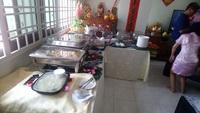 Buffet Catering Set up  - Tuk Wan kitchen from Tuk Wan Kitchen