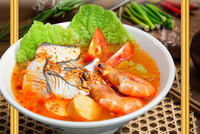 Seafood Tom Yam Soup from The Fish Hut