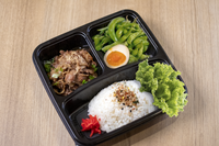 Beef Bento from Tamoya Udon and Tempura