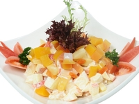 Fruit Salad with Thousand Island Dressing from Danny Catering
