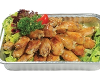 French Stlye Baked Chicken Wings with Garlic and Butter from Danny Catering