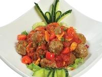 Italian Handmade Tomato Meatballs from Danny Catering