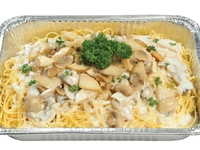 Assorted Mushroom with Creamy Sauce Spaghetti from Danny Catering