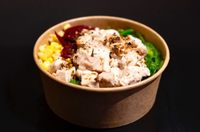Healthy Choice Bowl with Sous Vide Black Pepper Chicken Breast from CHENGDU BOWL