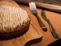 Lemon Meringue Tart from Coffee Folks & Company
