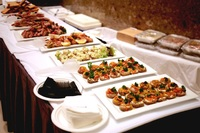 After Show Party Canape Buffet from Pumpernickel Catering