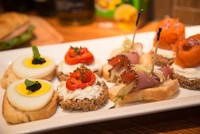 Canapes from Pumpernickel Catering