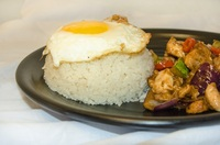 Nonya Chicken with Rice and Egg from Yuan Kee Famous Chicken Rice