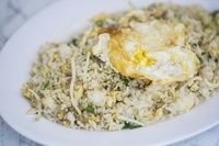 Silver Fish Fried Rice from Yuan Kee Famous Chicken Rice