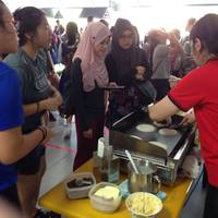Pancake Live Station from Sunlife Durian Puffs & Pastries