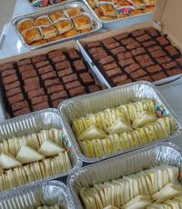 from Sunlife Durian Puffs & Pastries