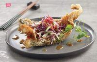 Deep-fried Veggie Fish from Lotus Vegetarian