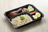 Soy Sauce Drumstick Bento from Hai Kee Brothers