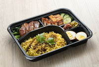 Upper Cross Street Tri Combo Bento from Hai Kee Brothers