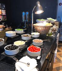 Buffet Catering Set Up - Kitchen Language Catering from Kitchen Language Catering