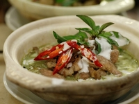 Signature Green Curry from Rattana Thai Restaurant