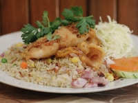 Fish Fried Rice from Rattana Thai Restaurant