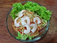 Papaya Salad from Rattana Thai Restaurant