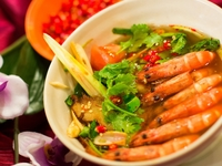 Tom Yum Soup with Prawns from Rattana Thai Restaurant