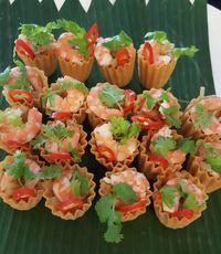 Canapes catering kueh pieti  - orange lantern catering from Orange Lantern Catering