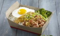 Curry Crispy Chicken Rice Box - <Big Bird Takeout> Catering Photo from Big Bird Takeout