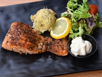 Salmon Steak from Foodcoholic
