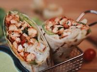 Chicken Tikka Wrap from Foodcoholic
