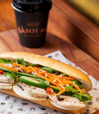 Cold Cut Classic Banh Mi Sandwich from Banh Mi Kitchen