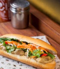 Lemongrass Chicken  Banh Mi Sandwich from Banh Mi Kitchen