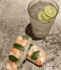 Prawn Rice Paper Rolls from Banh Mi Kitchen