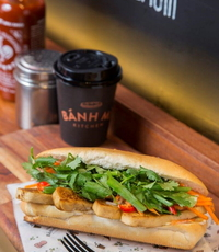 Vegetarian Delight Banh Mi Sandwich from Banh Mi Kitchen