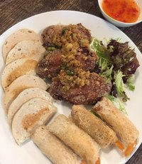 Snack Platter from Wing Wah Southeast Asia Cafe