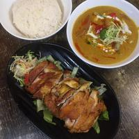 Thai-style Chicken Curry with Rice  from Wing Wah Southeast Asia Cafe
