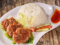 Fried Meatloaf with Rice from Bosom Hainan Chicken